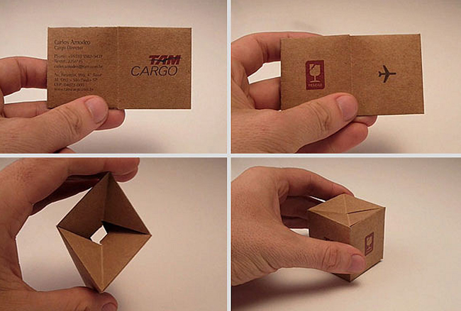 Transformable Business Card