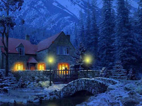 30 heart touching best christmas wallpapers for your - Free screensavers snowflakes falling ...