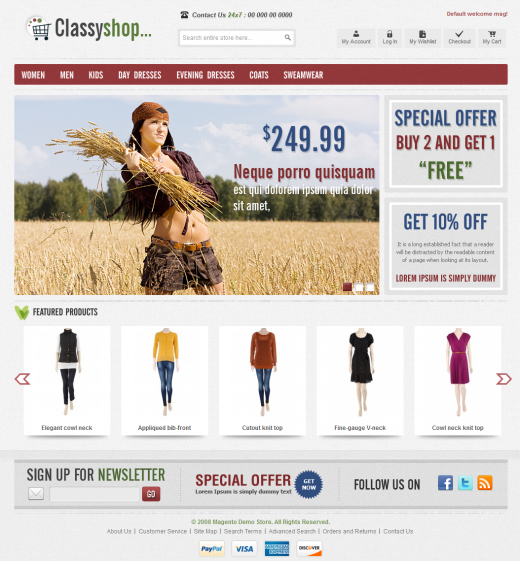 magento homepage template - 20 awesome premium magento themes from themeforest