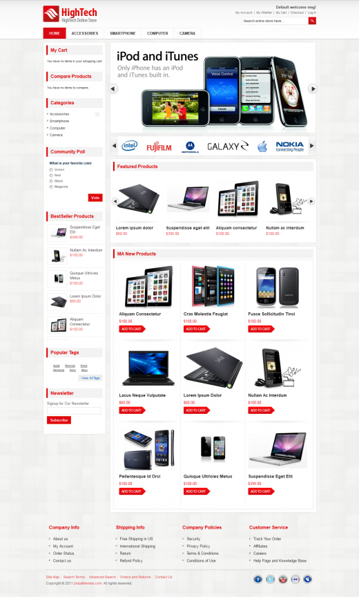 20 Awesome Premium Magento Themes from ThemeForest - GraphicsBeam