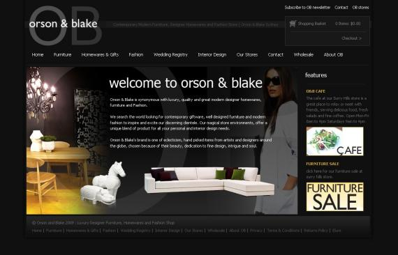 20 inspirational examples of interior design websites - Interior design discount websites ...