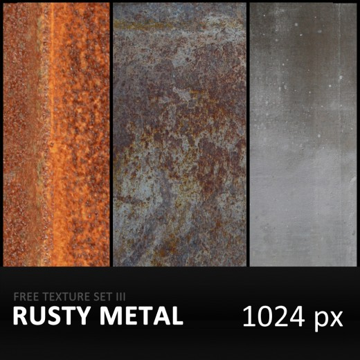 30 High Quality Free Metal Textures For Photoshop