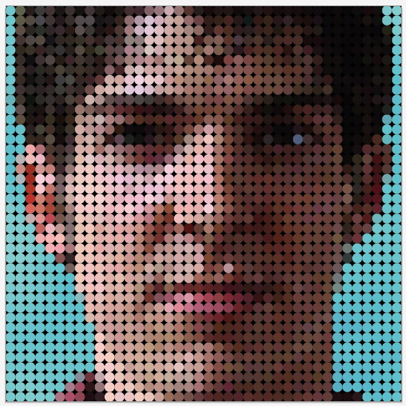 how to create mosaic look in illustrator