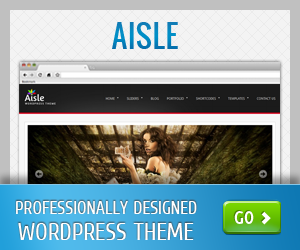 Aisle WordPress Theme