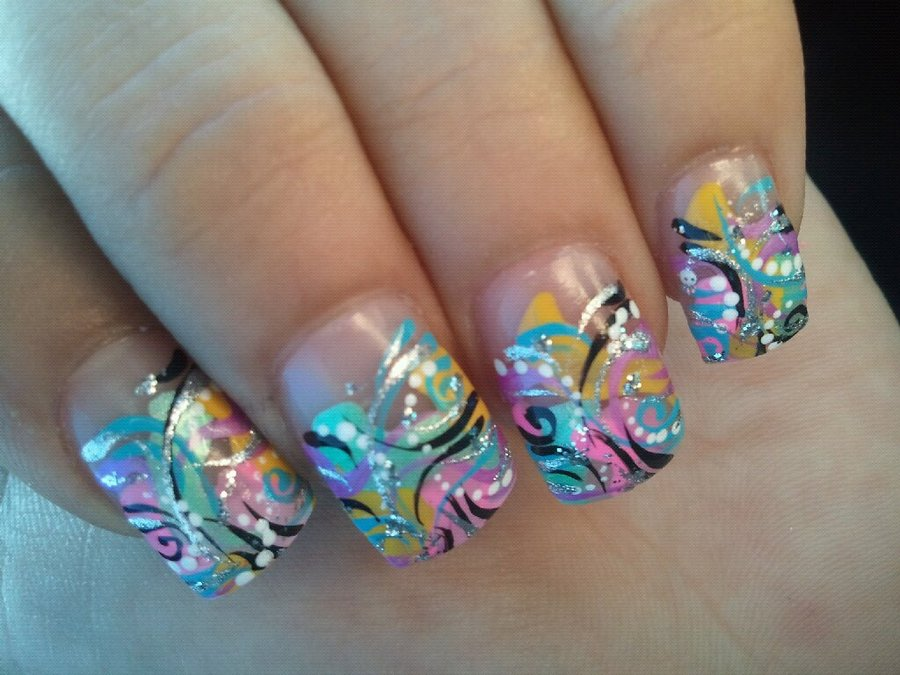 30 Most Exquisite And Creative Nail Art Designs Graphicsbeam