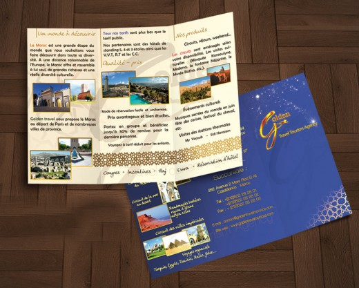 Magnificent Travel Brochure Examples  Graphicsbeam