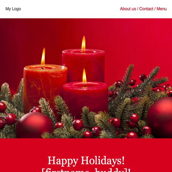 25 best free newsletter template designs examples for Christmas newsletter design ideas
