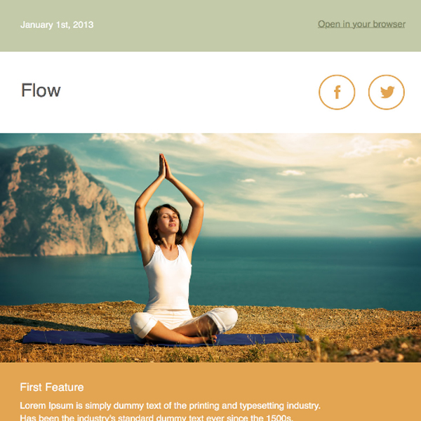 flow-newsletter-template