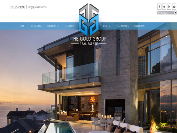 the-gold-group - Best Real Estate Website Designs