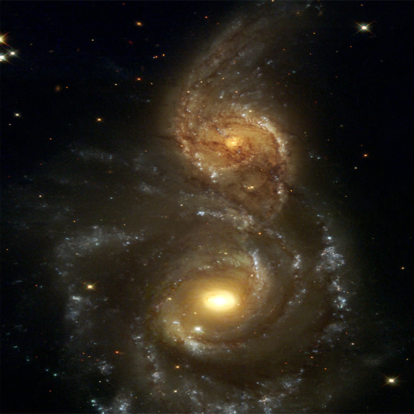 two-galaxies - Galaxy Wallpapers