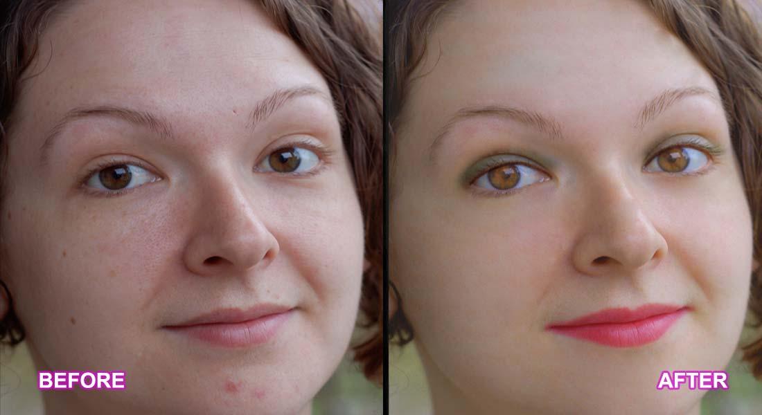 photoshop portrait touch up tutorial