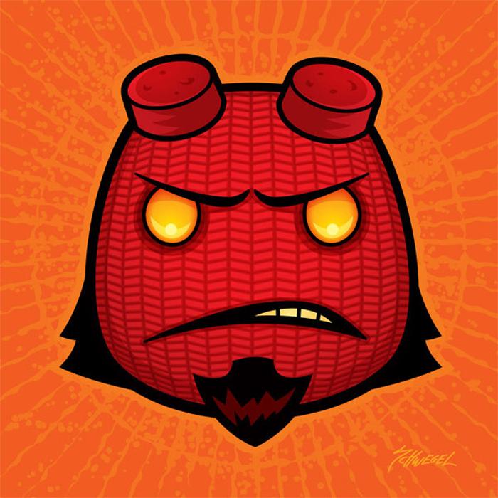 hellboy illustration artworks