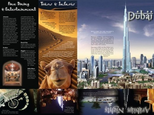 travel brochure examples