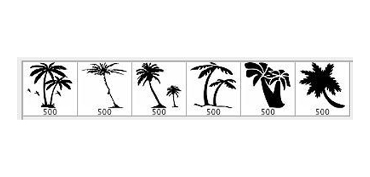 80 Outstanding Free Palm Tree Brushes For Photoshop