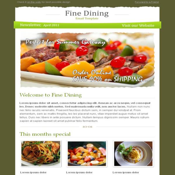 fine-dining-newsletter