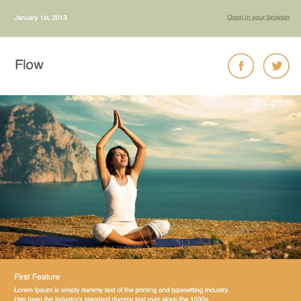 flow-newsletter-template
