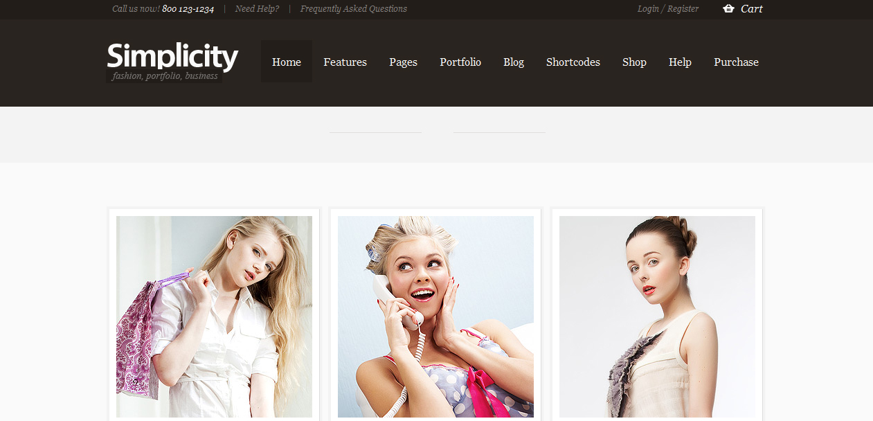 simplicity - wordpress-ecommerce-themes